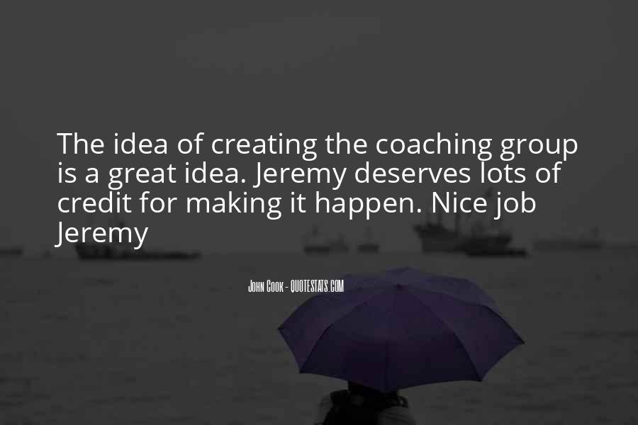 You Did A Great Job Quotes #120723
