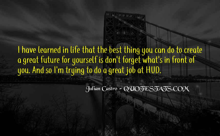 You Did A Great Job Quotes #161638