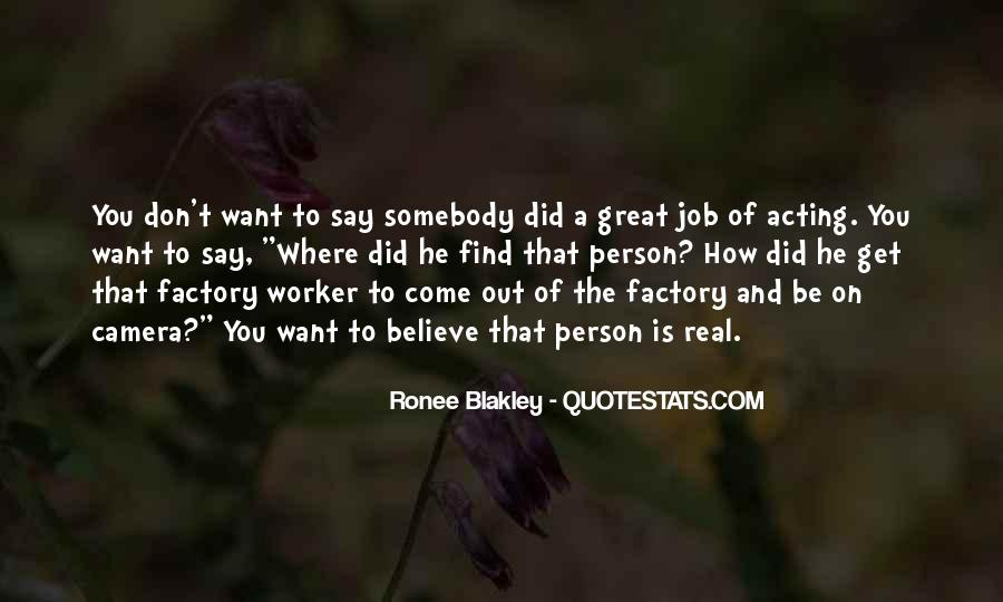 You Did A Great Job Quotes #207109