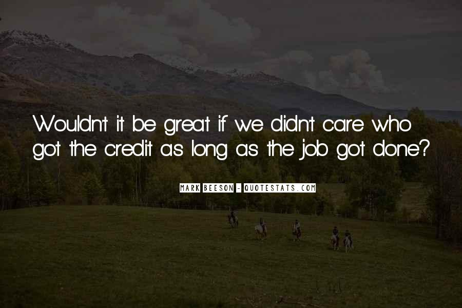 You Did A Great Job Quotes #23327