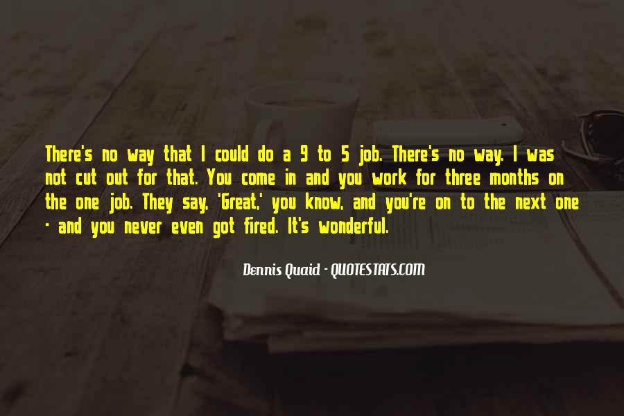 You Did A Great Job Quotes #496
