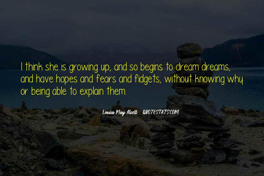 Quotes About Fears And Dreams #1013548