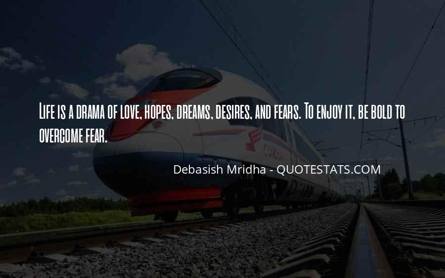 Quotes About Fears And Dreams #1159113