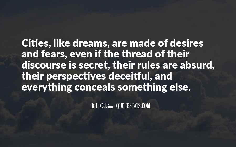 Quotes About Fears And Dreams #1461337