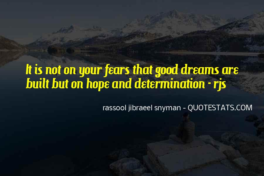 Quotes About Fears And Dreams #1561632