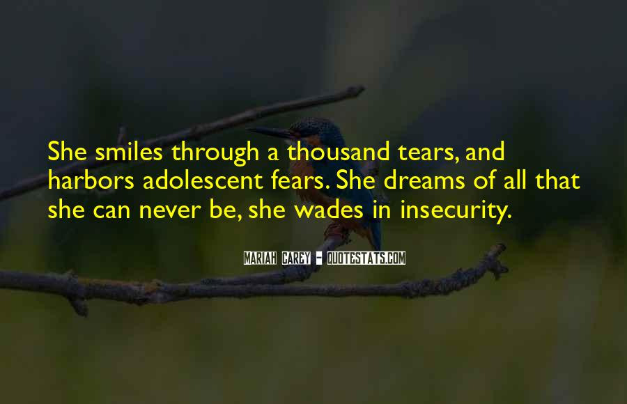 Quotes About Fears And Dreams #1701542