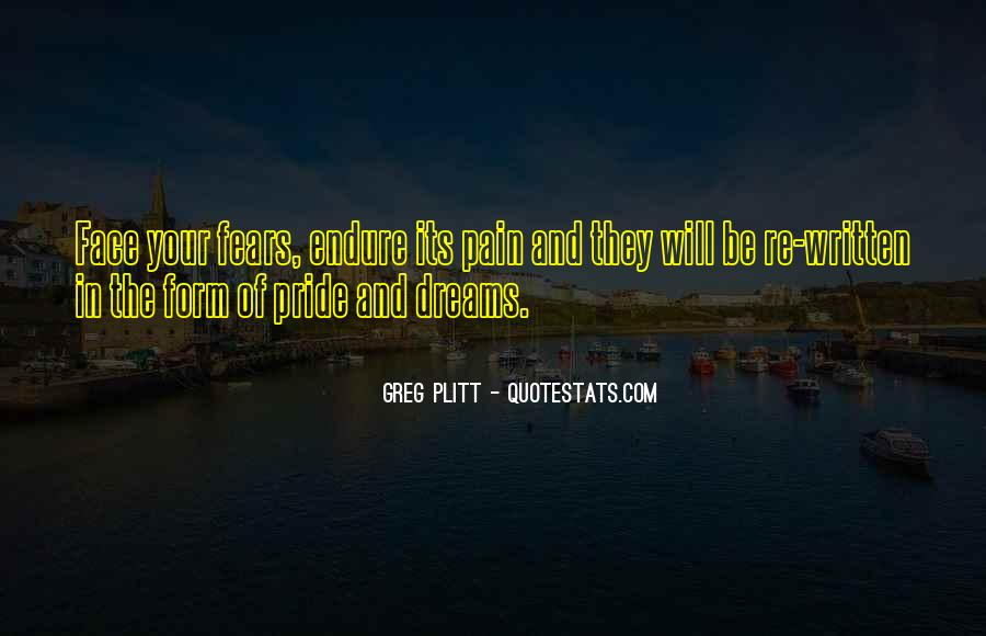 Quotes About Fears And Dreams #1750954