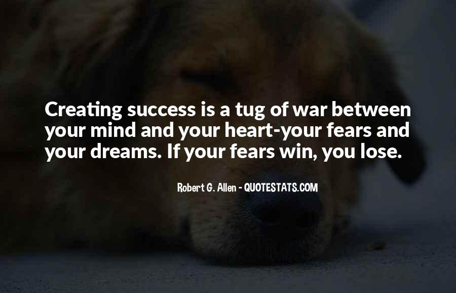 Quotes About Fears And Dreams #23219
