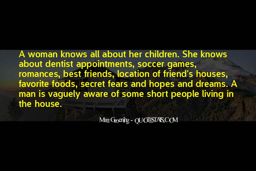 Quotes About Fears And Dreams #401756