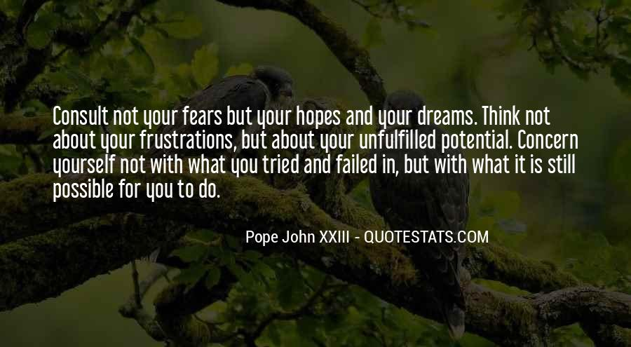 Quotes About Fears And Dreams #416861