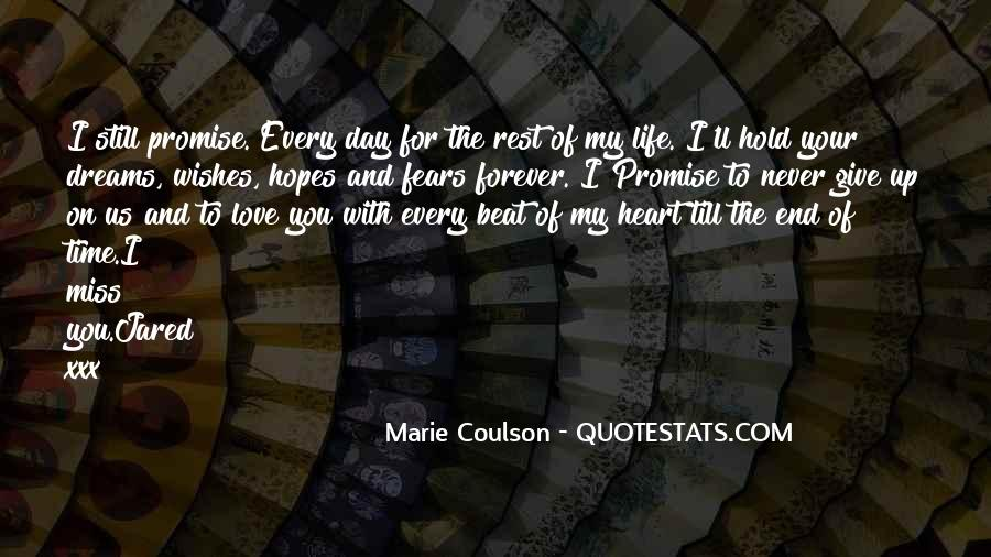 Quotes About Fears And Dreams #41947