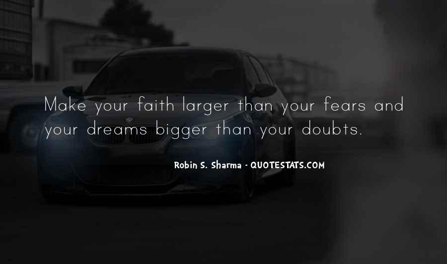 Quotes About Fears And Dreams #468531