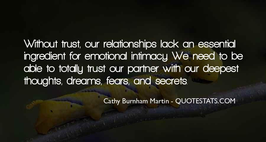 Quotes About Fears And Dreams #567987