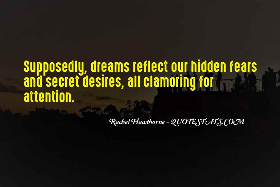 Quotes About Fears And Dreams #687806