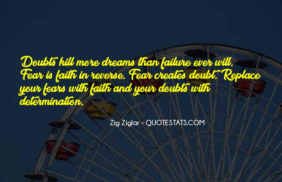 Quotes About Fears And Dreams #794694