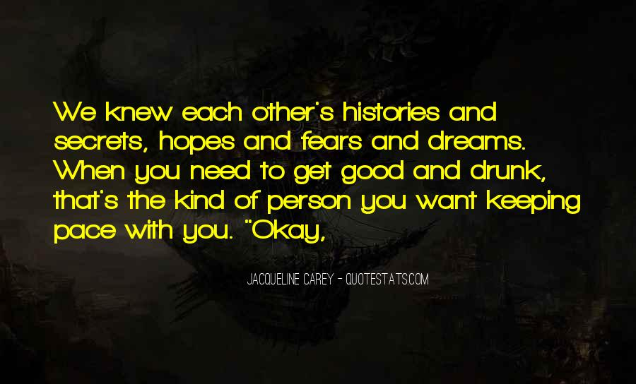 Quotes About Fears And Dreams #81164