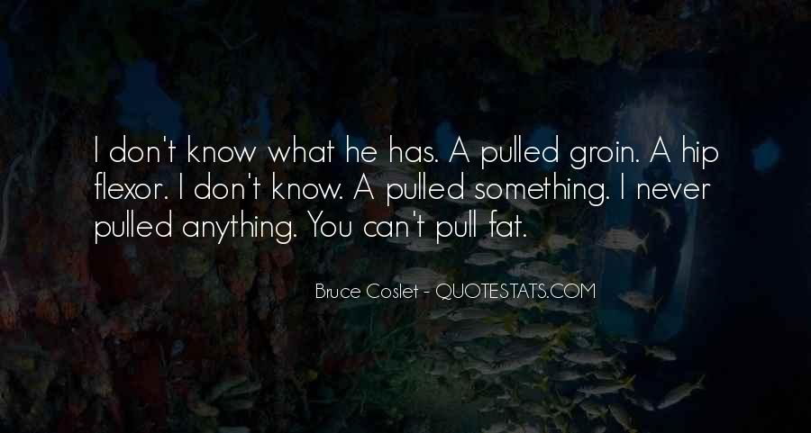 You Don't Know Anything Quotes #229686
