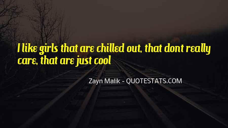 You Dont Care Like I Do Quotes #1498608
