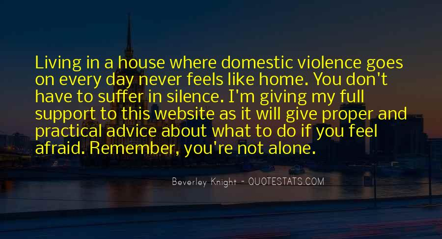 You Feel Like Home Quotes #30502