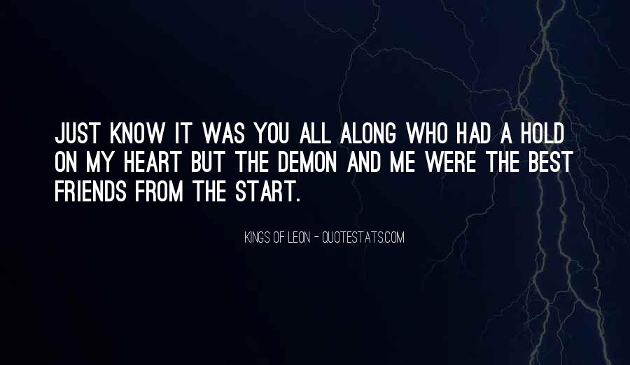 You Had My Heart From The Start Quotes #1441296