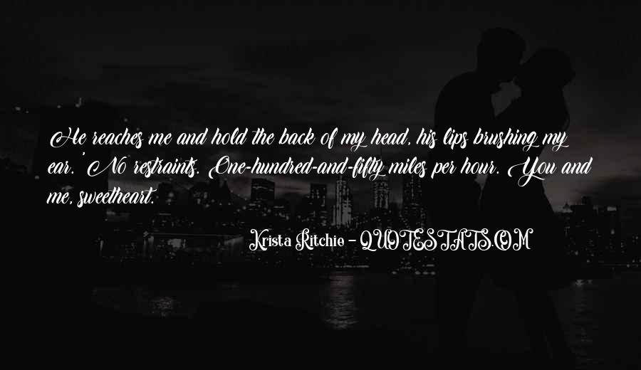 You Hold Me Back Quotes #565618