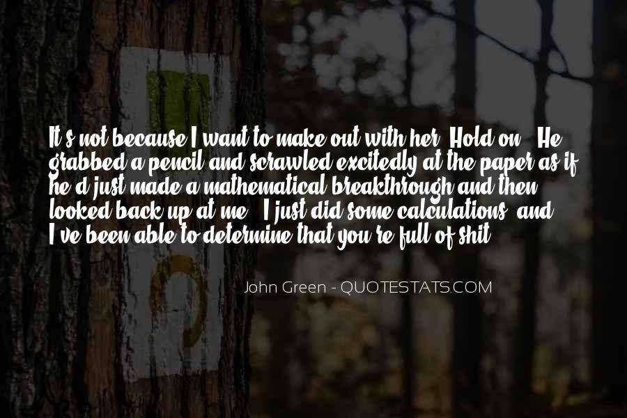 You Hold Me Back Quotes #704726