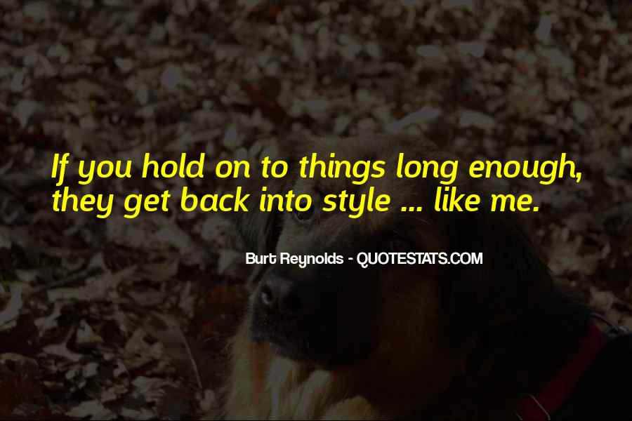 You Hold Me Back Quotes #789179
