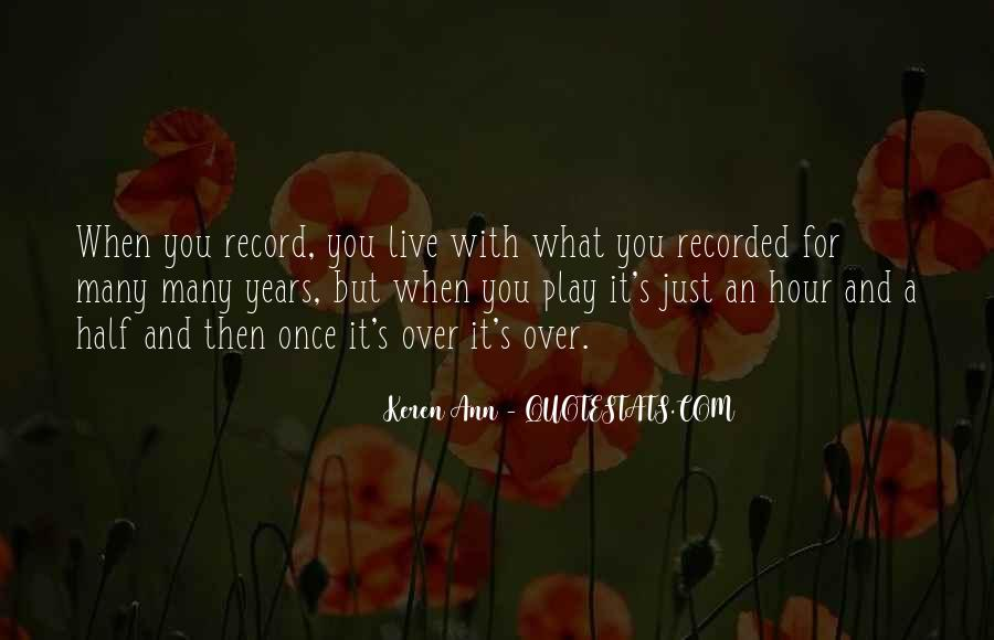 You Just Live Once Quotes #1000795