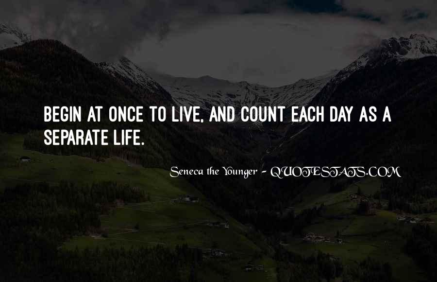 You Just Live Once Quotes #2941