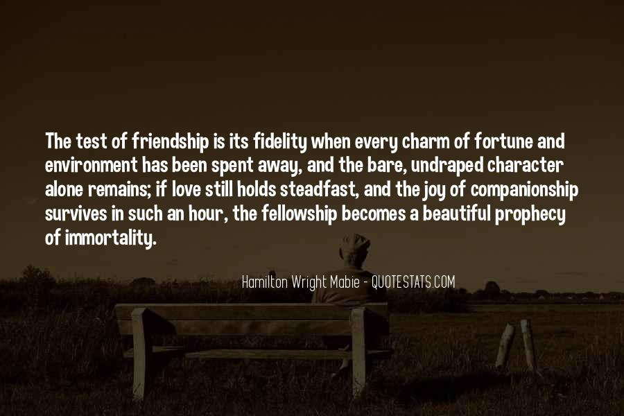 Quotes About Fortune And Love #1464679