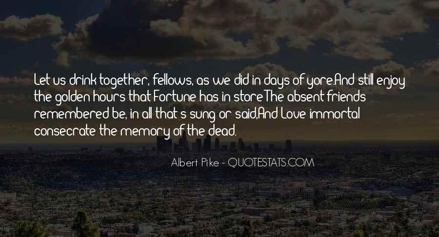 Quotes About Fortune And Love #1610619
