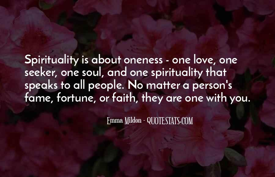 Quotes About Fortune And Love #592745