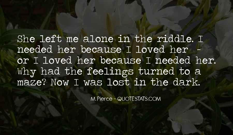 You Left Me Here Quotes #6050