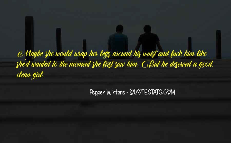 You Let A Good Girl Go Quotes #60928