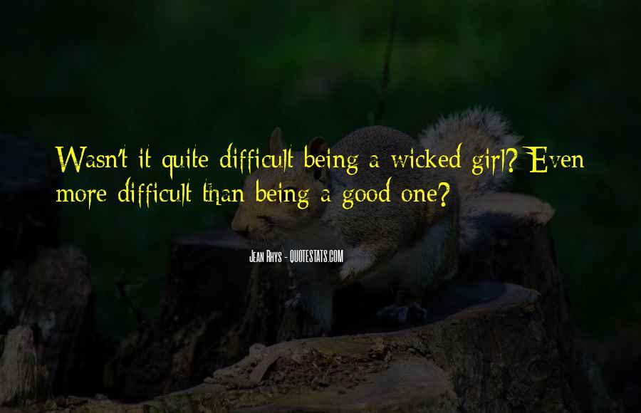 You Let A Good Girl Go Quotes #73670