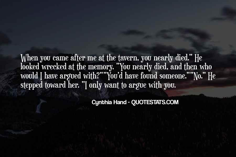 You Looked After Me Quotes #61213