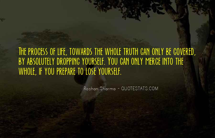 You Lose Yourself Quotes #208240