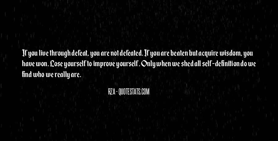 You Lose Yourself Quotes #211461