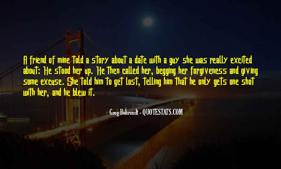 You Lost Him Quotes #1468405