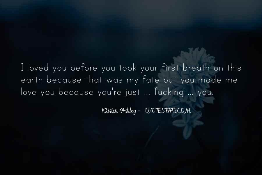 You Loved Me First Quotes #1101639