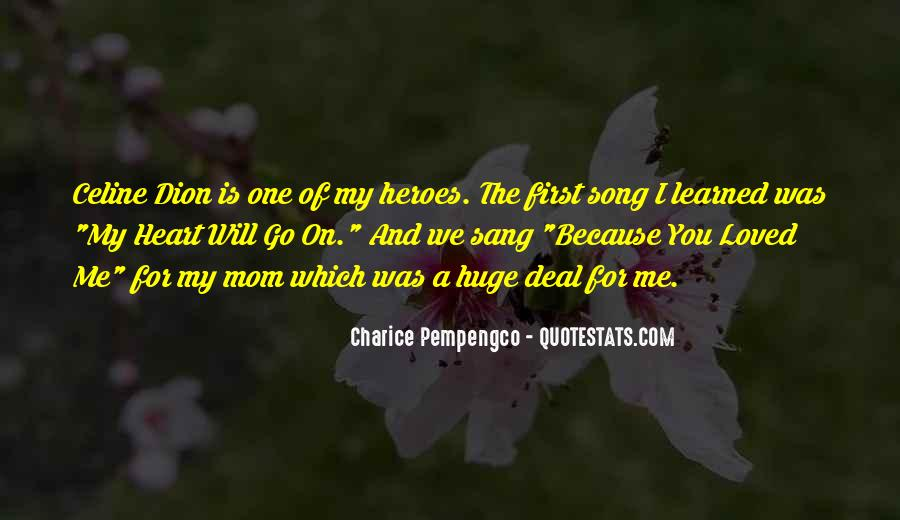 You Loved Me First Quotes #1784642