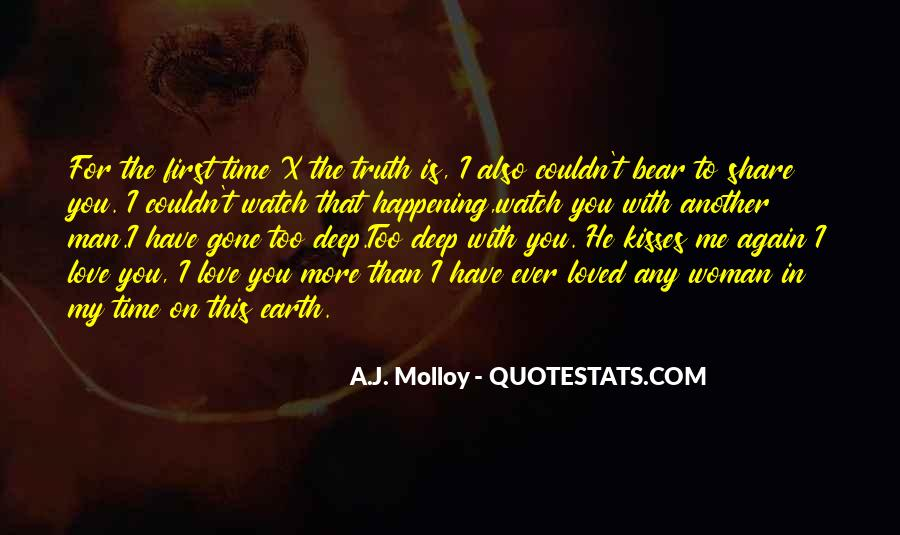 You Loved Me First Quotes #940334