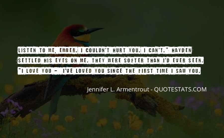 You Loved Me First Quotes #95775