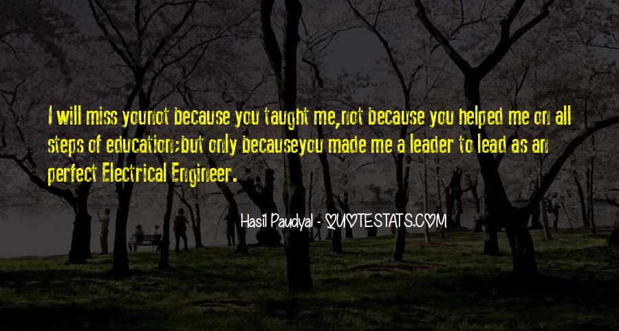 You Made Me Perfect Quotes #1379502