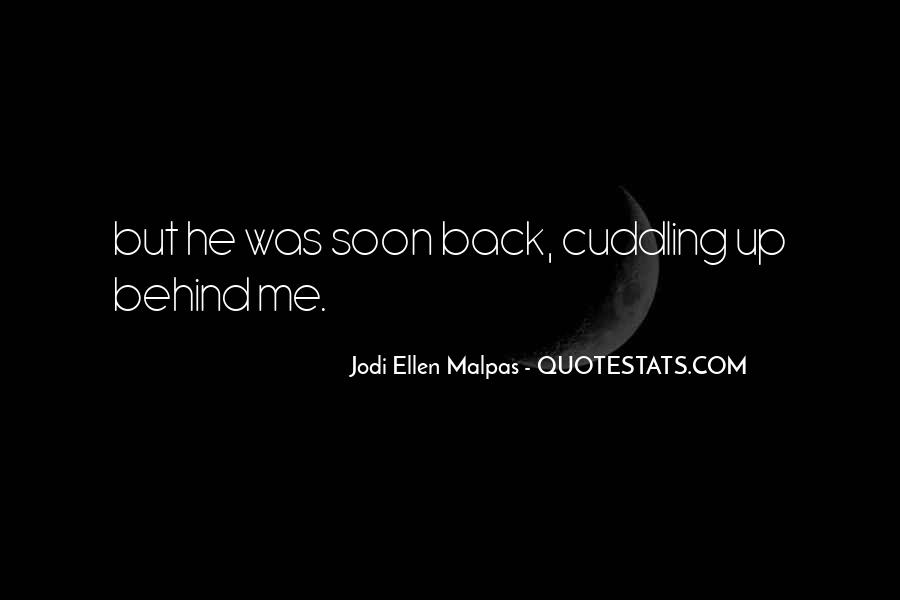 Quotes About Cuddling Up #1483807