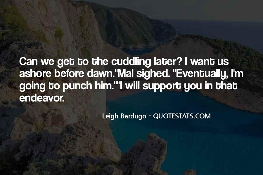 Quotes About Cuddling Up #427573