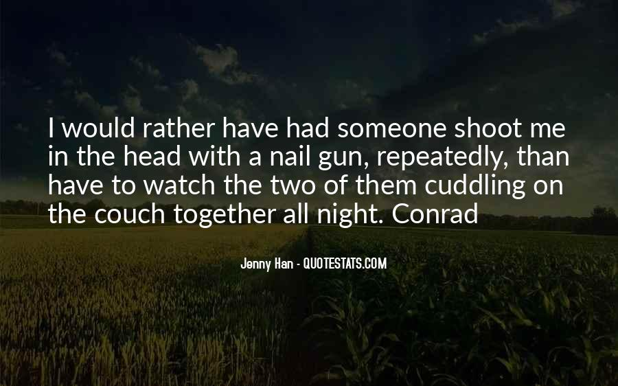 Quotes About Cuddling Up #432125