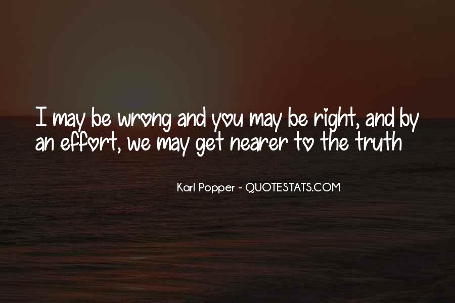 You May Be Wrong Quotes #244831