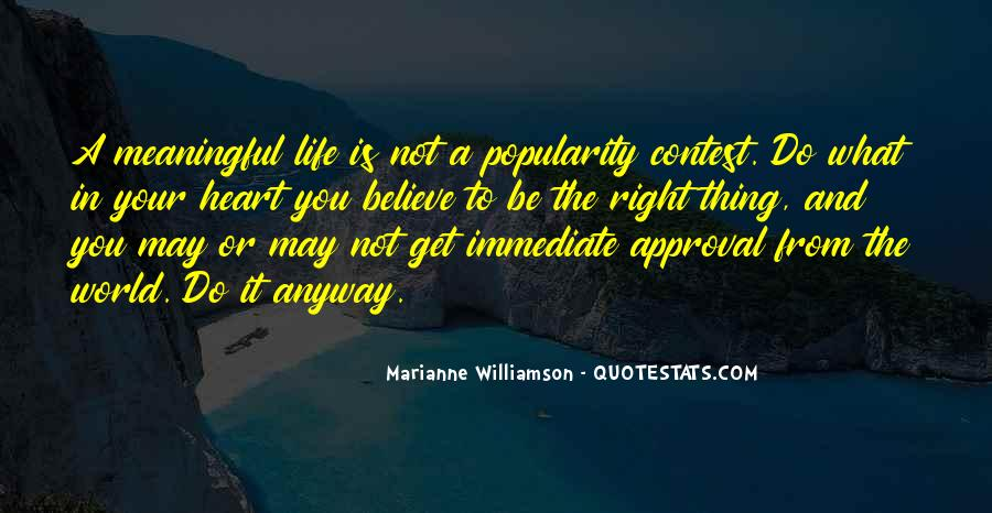 You May Not Be Quotes #13784