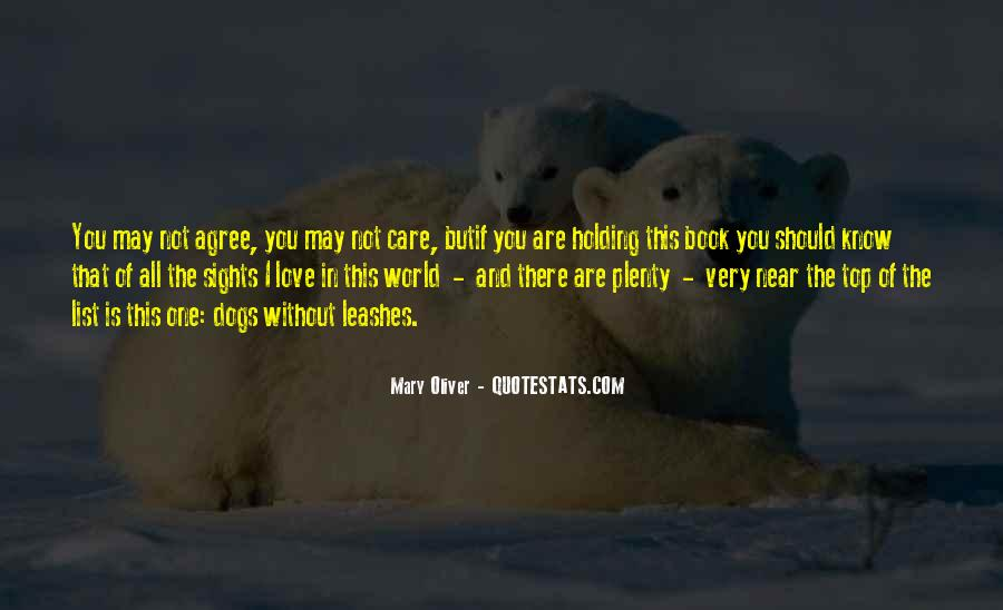 You May Not Care Quotes #210241